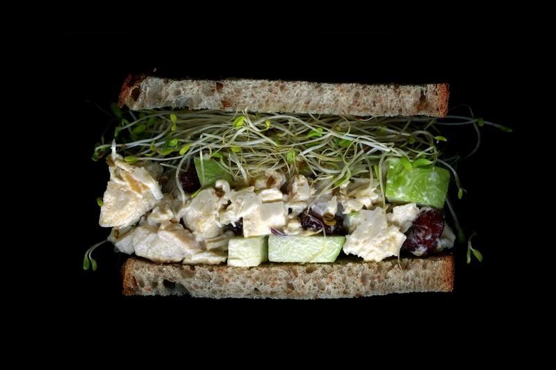 Коллекция сэндвичей_ куриный салат