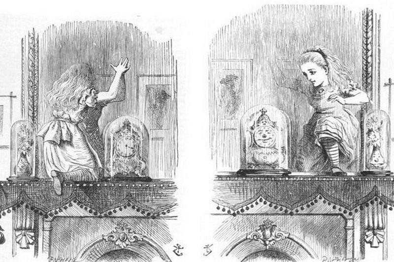 Алиса в Зазеркалье переводы