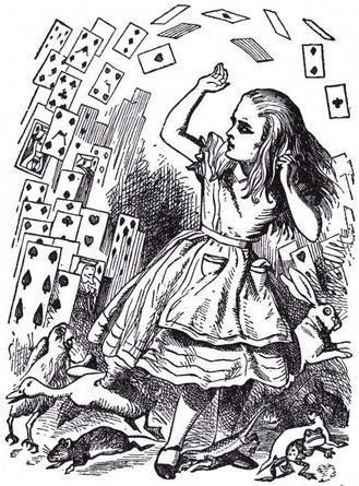 Алиса в стране чудес в украинском переводе