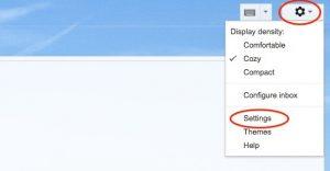 Автоответчик Gmail 1
