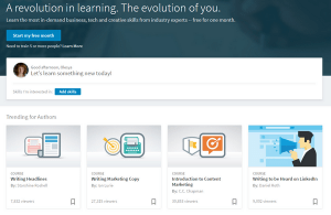 Обучение с LinkedIn