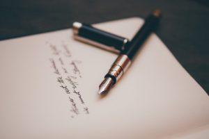 подписи к письмам на английском