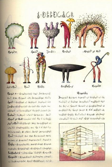 Codex Seraphinianus. Люди 1