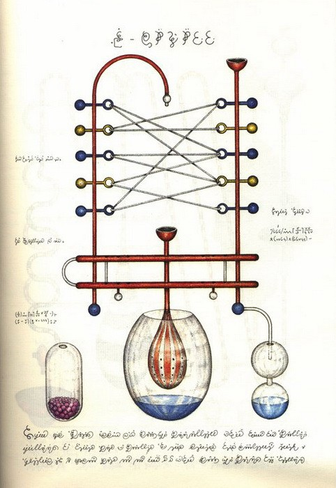 Codex Seraphinianus. Наука 3Codex Seraphinianus. Наука 3