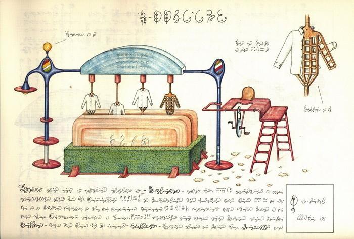 Codex Seraphinianus. Механизмы 3