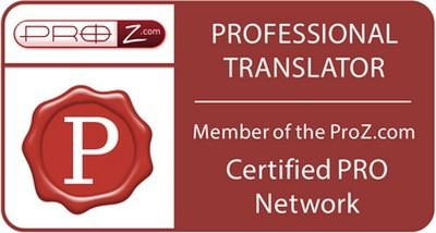 Olesya Zaytseva ProZ сертифицированный переводчик в паре английский-русский