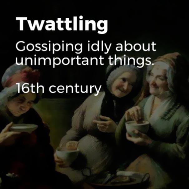 twattling