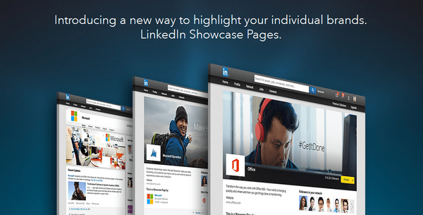 LinkedIn Showcase pages: целевые рекламные страницы
